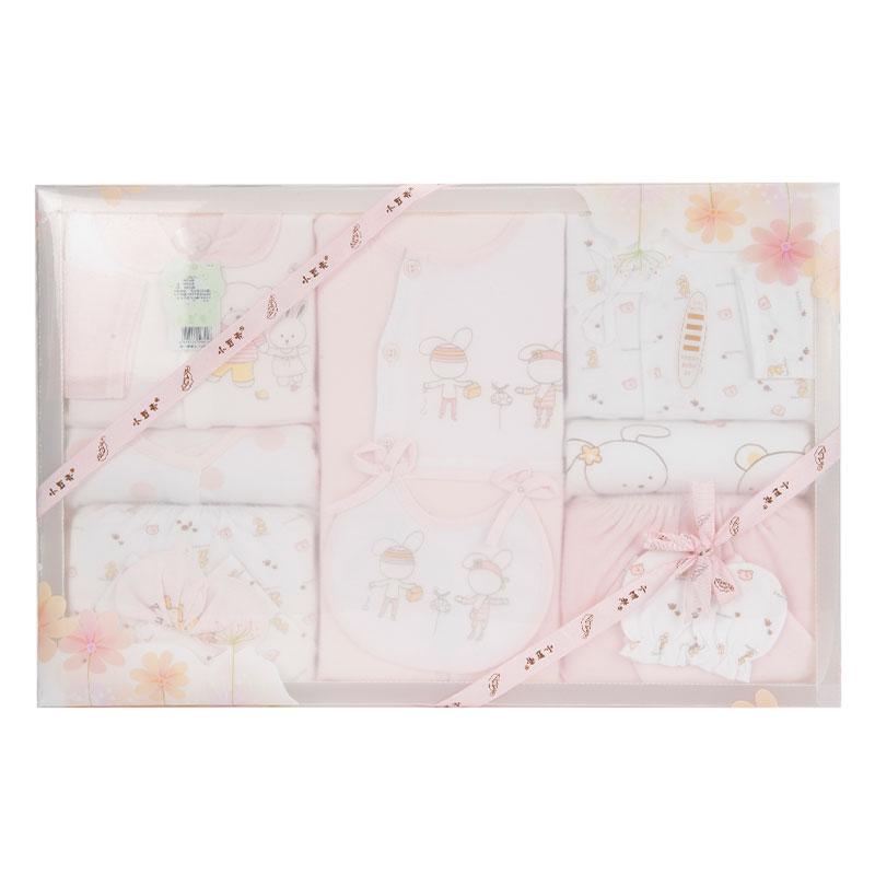 小豆壳(新)--高级服饰礼品盒10件套J-958粉混码CM盒