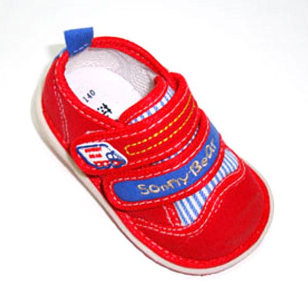 莎妮熊--叫叫布鞋B12533(红-13)