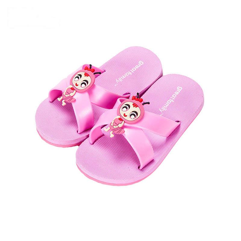 歌瑞凯儿女婴小白兔拖鞋GK162-006SH粉14cm双