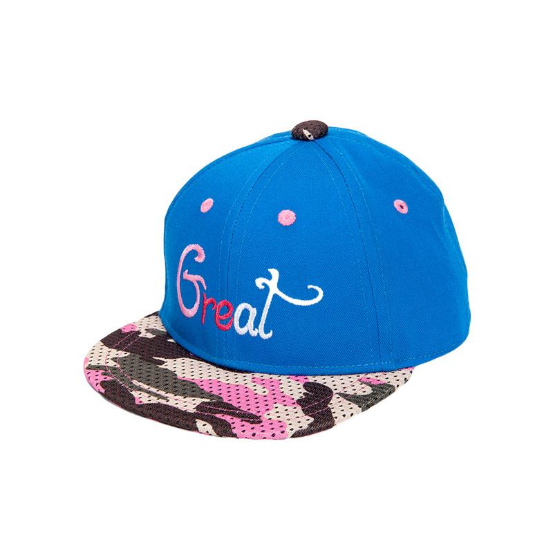 歌瑞凯儿男童棒球帽GB161-045A蓝46cm顶