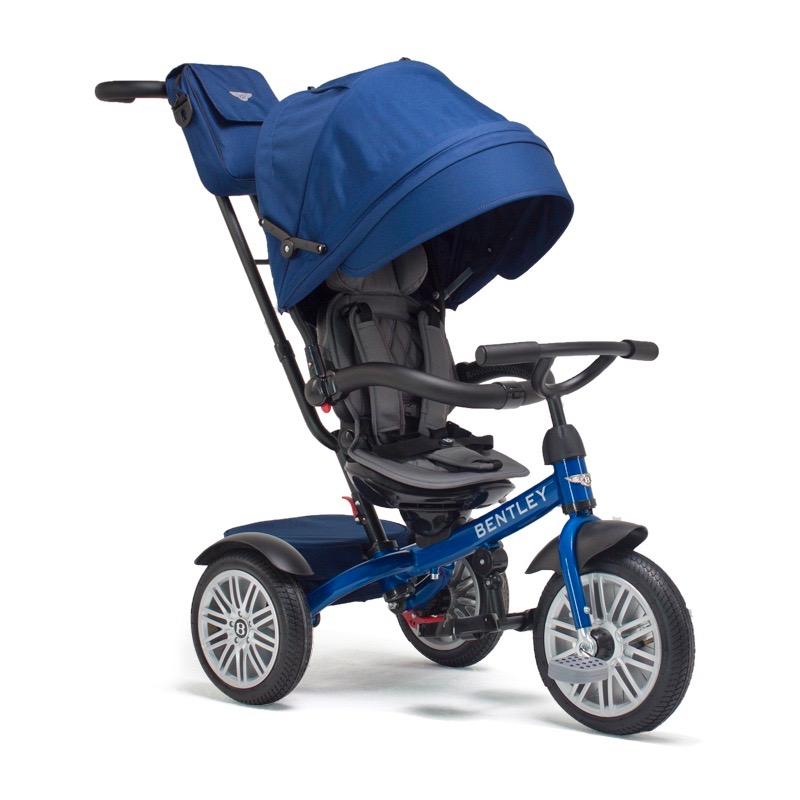 Bentley宾利儿童多功能三轮推车 蓝色