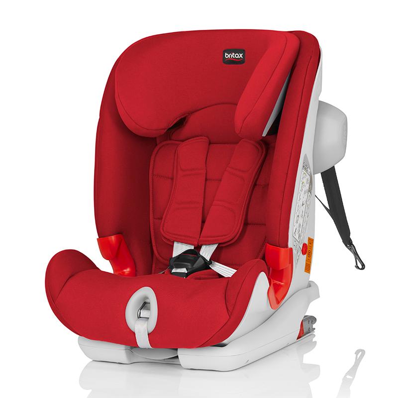 宝得适(britax)百变骑士IISICT儿童安全座椅热情红