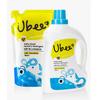 幼蓓Ubee婴儿衣物清洗剂组合装(1L+800ml)温和健康洁净去污