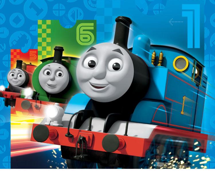 托马斯和小火车简笔画