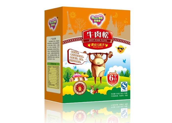 格兰宝--婴幼儿配方牛肉松-乐友婴儿用品网-全出榨米粉图片